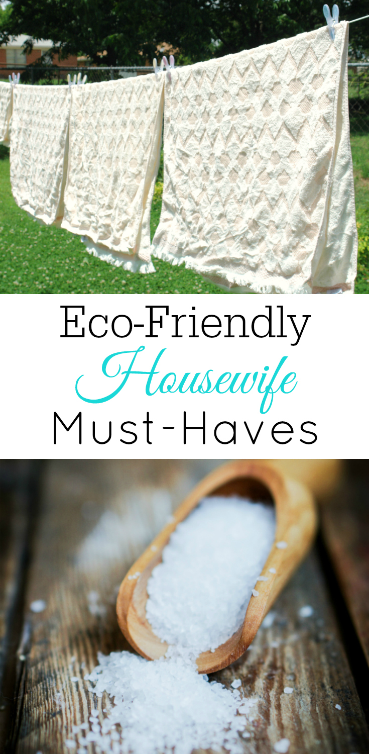 Eco-friendly housewife must-haves, go green, eco-friendly living, homemaking