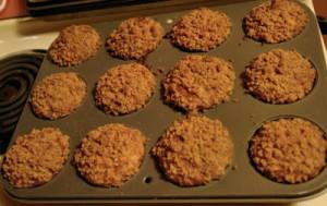 Recipe: Banana Crumb Muffins