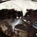 Easy Chocolate Cake and Cream Cheese Icing