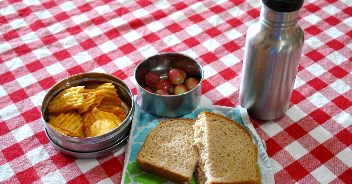 School lunches create a lot of waste and that waste is costing you a lot of money. Waste-free lunches save money and resources. Here's how to get started!