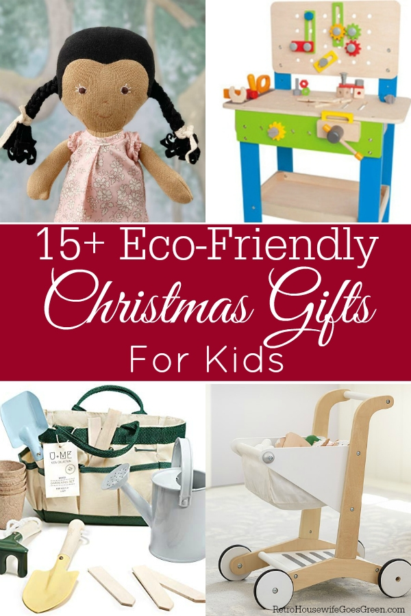 collage of christmas gifts for kids
