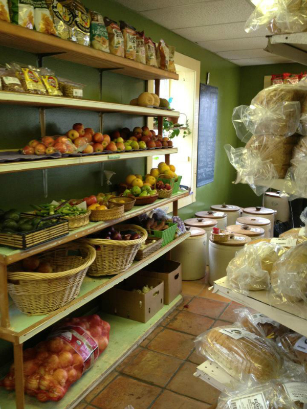 Inside of health food store