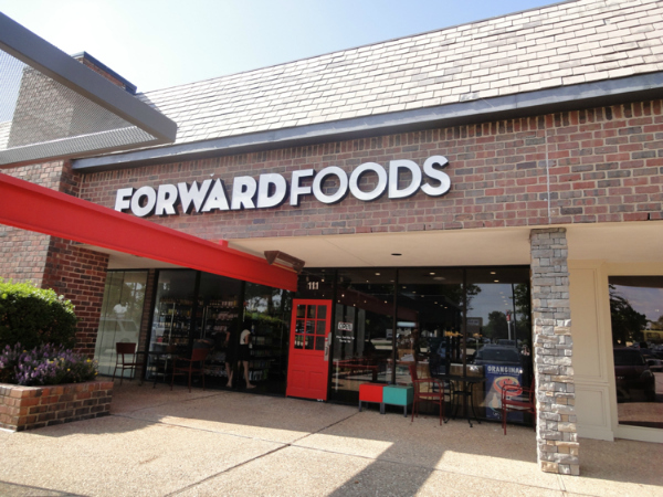 front of Forward Foods