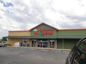 Natural Grocers parking lot