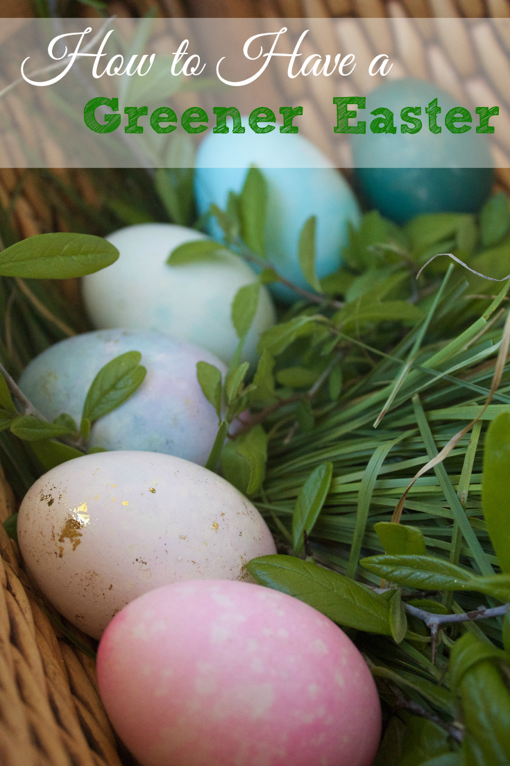 How to have a greener Easter this year.