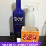 DIY Fabric Refresher Spray