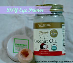DIY Eye Primer