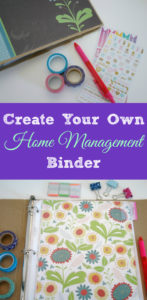 Home management binders are a great way to stay organized and prepared! Learn how to set up one that will work for you.