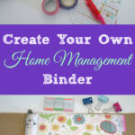 Create a Home Management Binder