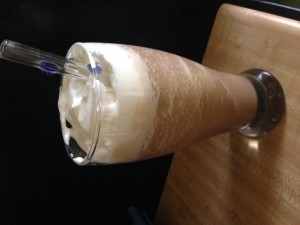 Mint Blended Coffee Drink