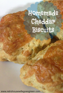 Homemade Cheddar Biscuits