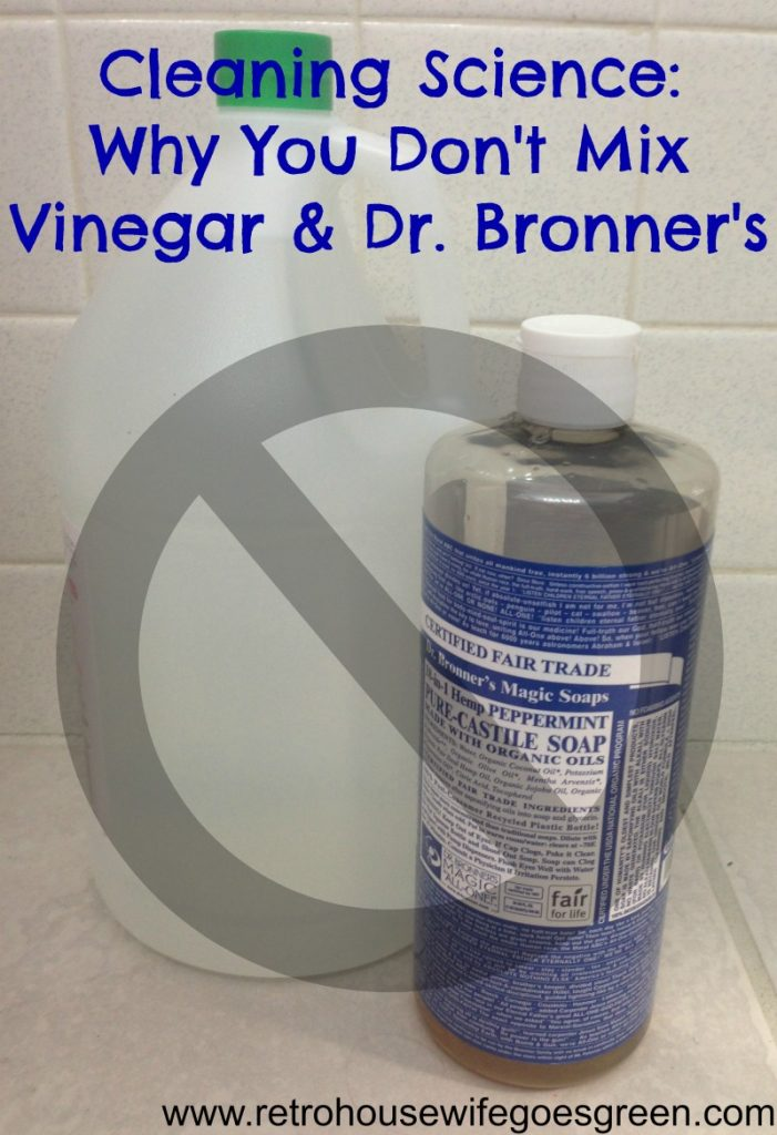 dr. bronner's and vinegar
