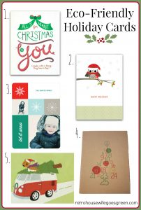 Eco-Friendly Holiday Cards