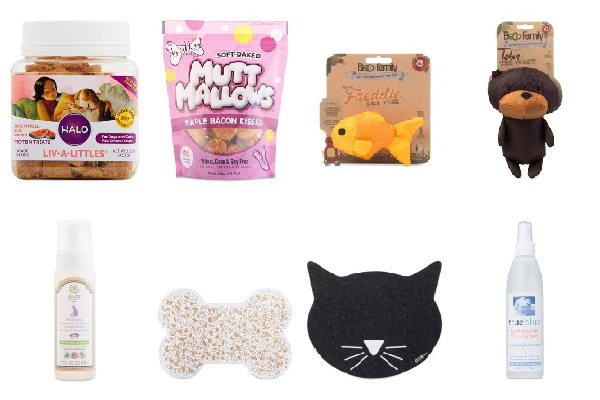 pet supplies collage