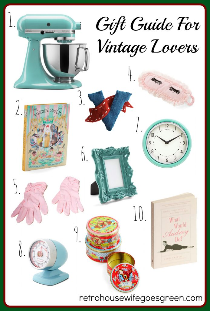 Vintage Inspired Gifts