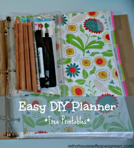 DIY Planner, Free Printables Included