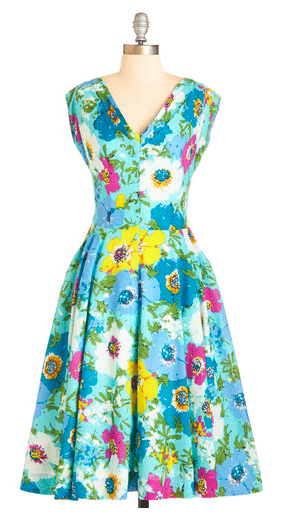 Vintage Inspired Easter Dresses | Retro Housewife Goes Green
