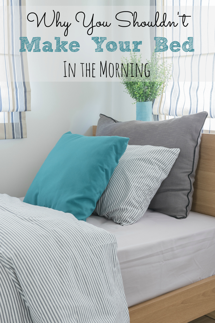 Making your bed in the morning may seem like a good idea but is it really? It may not be very good for your health!