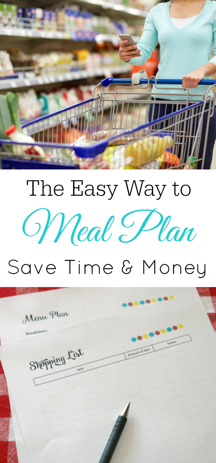 Meal Planning That Saves You Time and Money #frugal #mealplanning