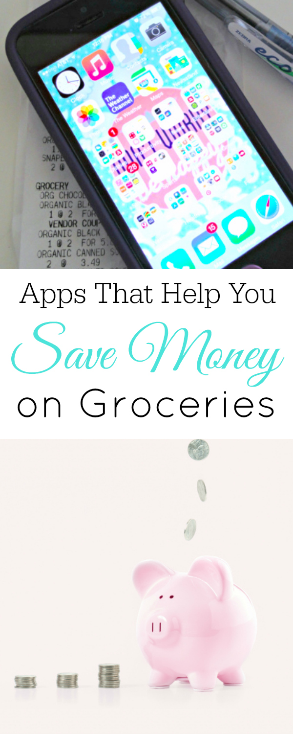 Apps that save you money on groceries #frugal