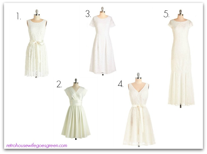 Made in the USA Dresses for Weddings - Retro Housewife Goes Green