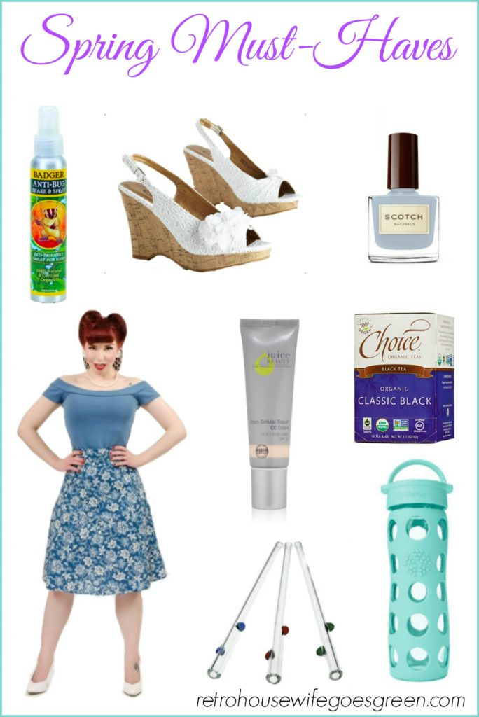 Spring Must-Haves   Retro Housewife Goes Green