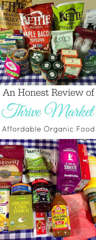 Thrive Market Haul