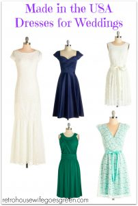 Made in the USA Dresses for Weddings