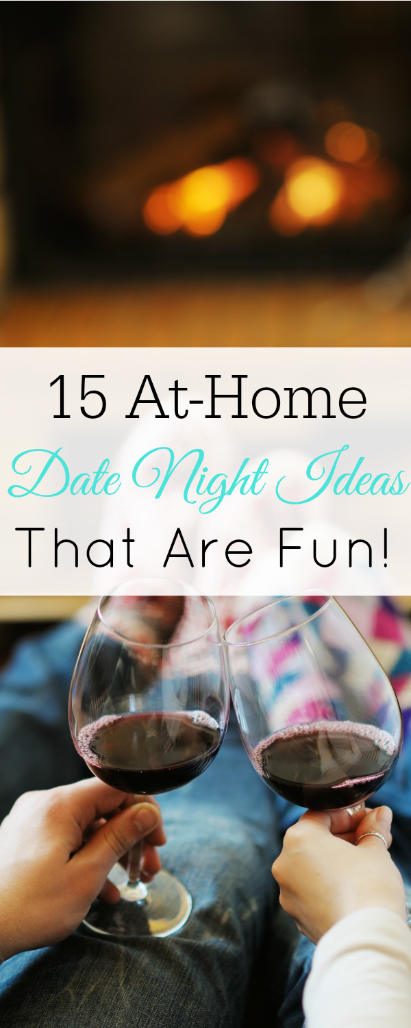 15 at home date night ideas that are actually fun