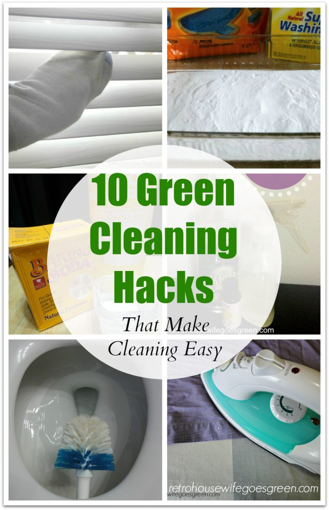 10 Green Cleaning Hacks
