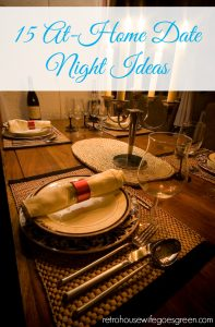 15 At-Home Date Night Ideas
