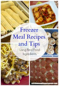 Freezer Meal Recipes and Tips