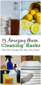 15 Green Cleaning Hacks