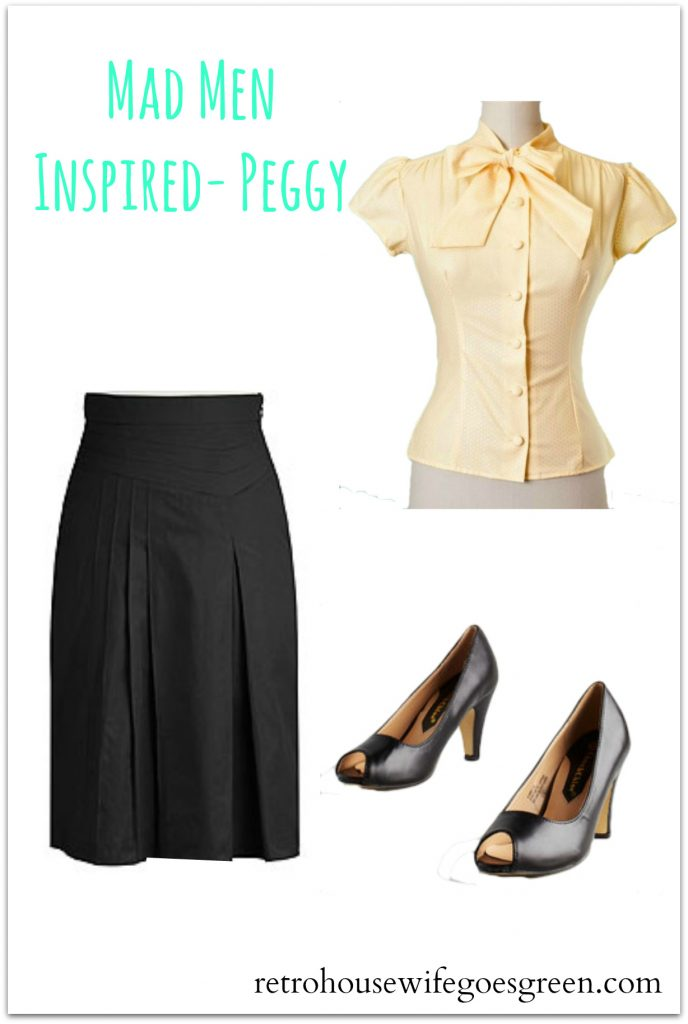 Mad Men Inspired Outfits | Retro Housewife Goes Green
