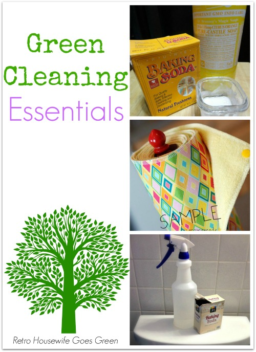 Green Cleaning Essentials | Retro Housewife Goes Green