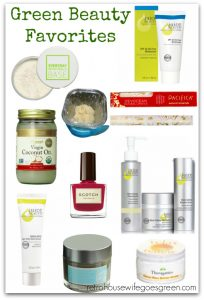 10 Green Beauty Favorites
