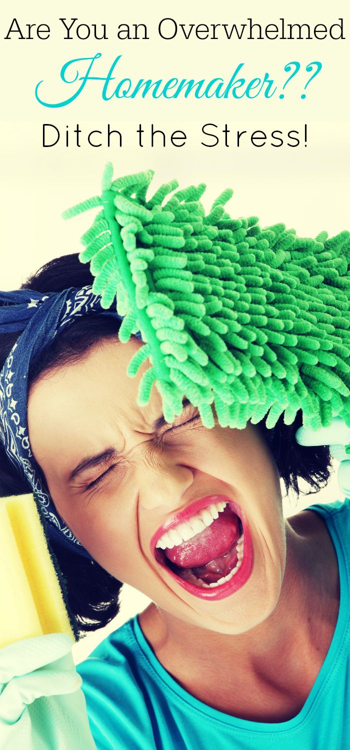 Are you an overwhelmed homemaker? Productive homemaker, housewife, stay at home mom stress