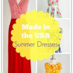 Made in the USA Summer Dresses