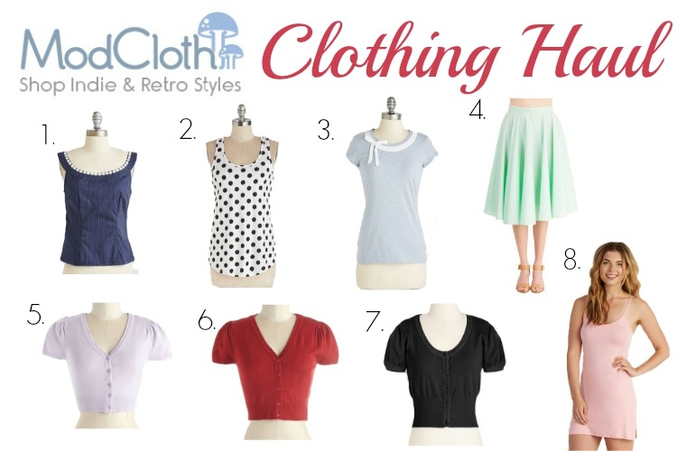 ModCloth Haul & News