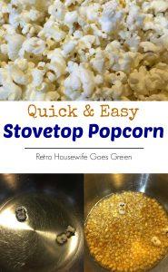 Quick & Easy Stovetop Popcorn