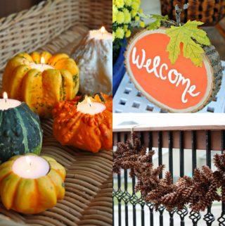 Fall DIY Projects, Autumn DIY, Fall Decor, Fall Crafts