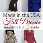 Fall Dresses That Are Made in the USA