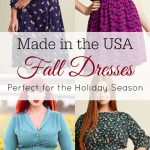 Made in the USA Dresses for Fall