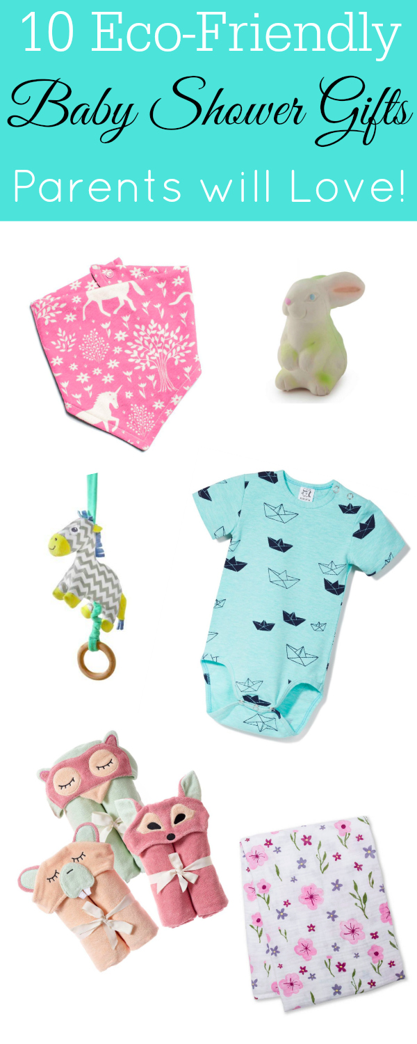 Eco-Friendly Baby Shower Gifts #baby #parenting #ecofriendly
