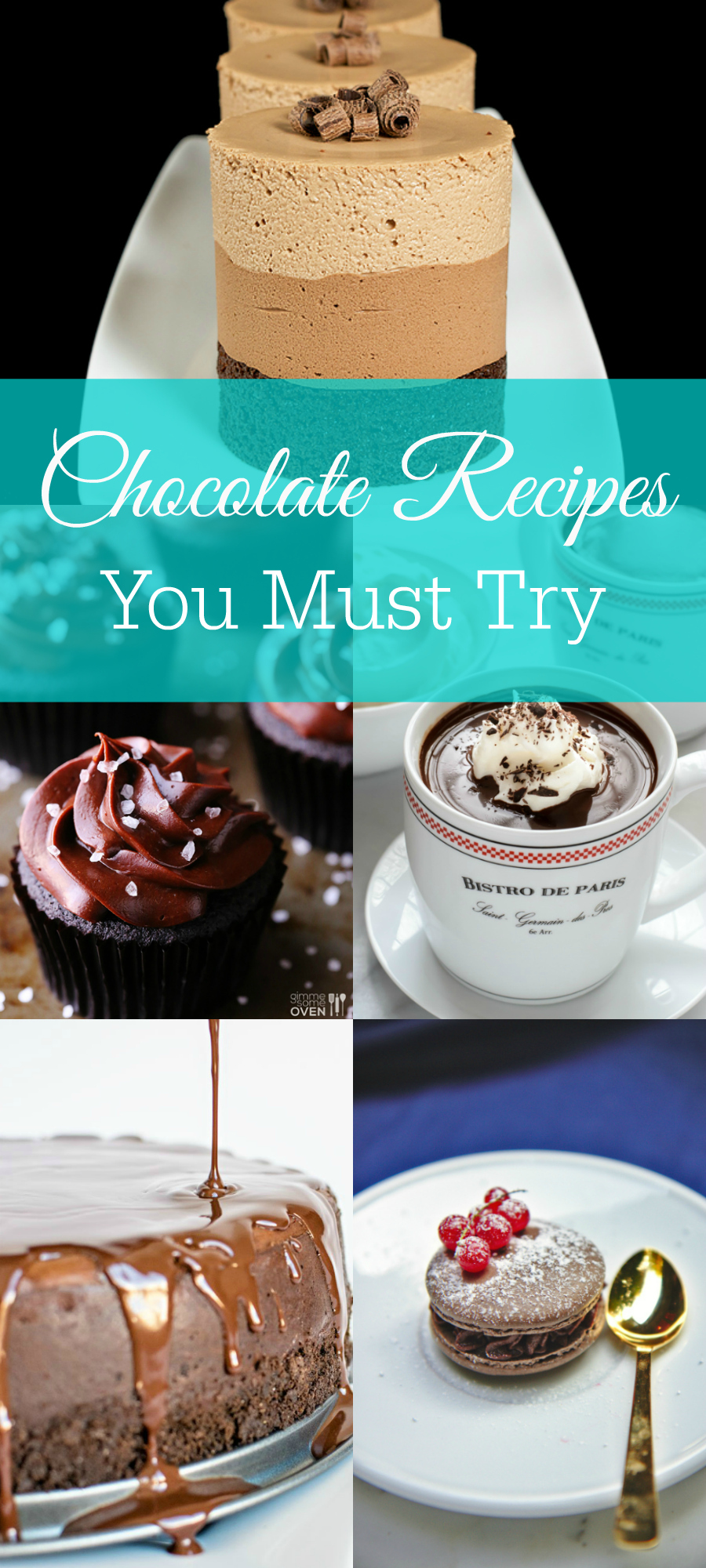 Chocolate Recipes to Try Today, Chocolate Cake, Cupcakes, Cookies