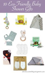 10 Eco-Friendly Baby Shower Gifts