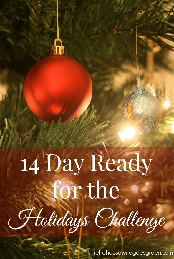 14 Day Ready for the Holidays Challenge