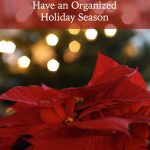 Holiday Planners: Have an Organized Holiday Season