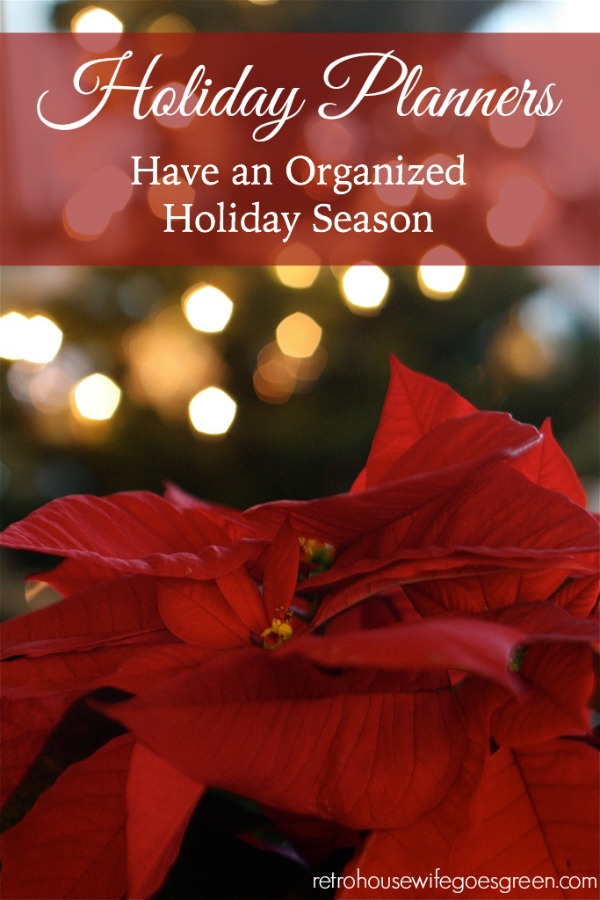 Holiday Planners to Help You Have an Organized Holiday Season . Including Free Printables!