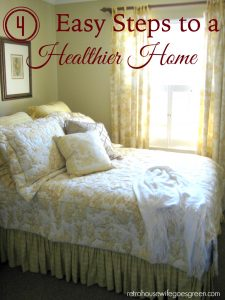 4 Easy Steps to a Healthier Home